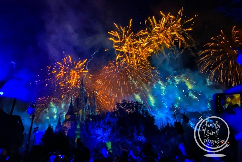 disney's not so spooky spectacular fireworks