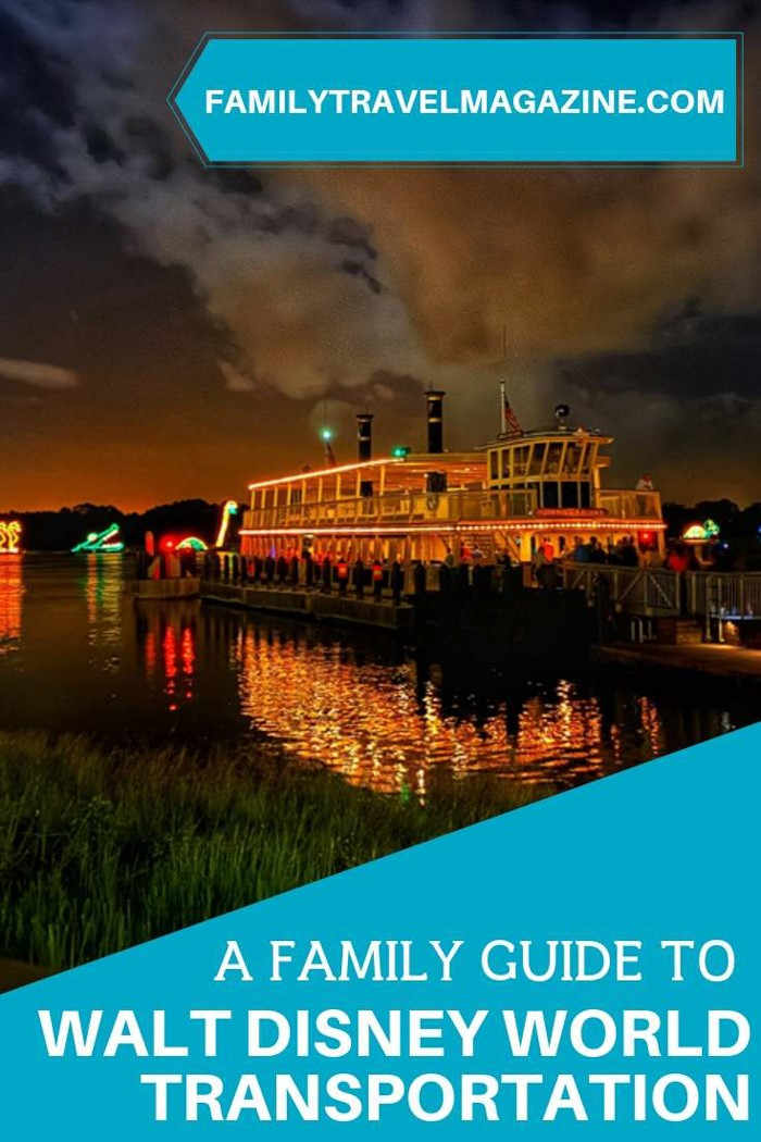 A family guide to Walt Disney World transportation.