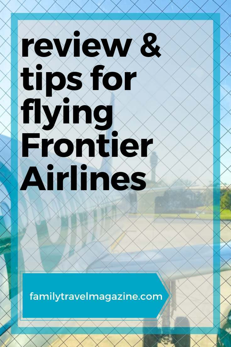 Flying Frontier Airlines