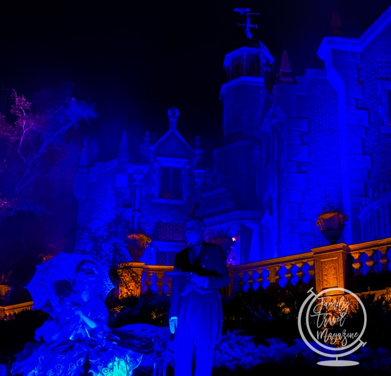 Haunted Mansion at the Disney Halloween Party