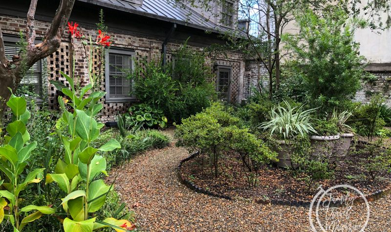 Courtyard at the Juliette Gordon Low Birthplace