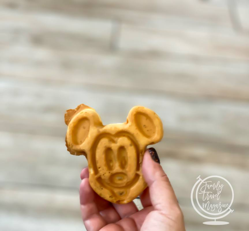 Mickey Waffles at the Homewood Suites in Orlando