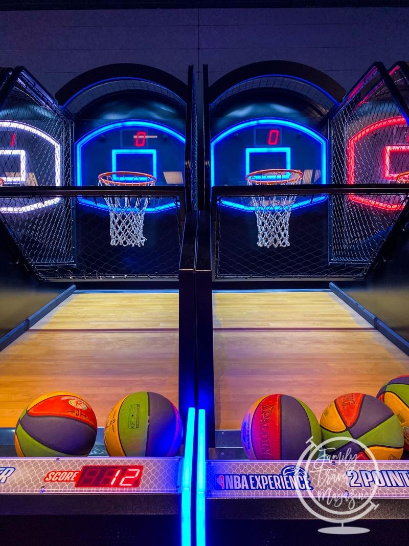 Basketball at the NBA Experience