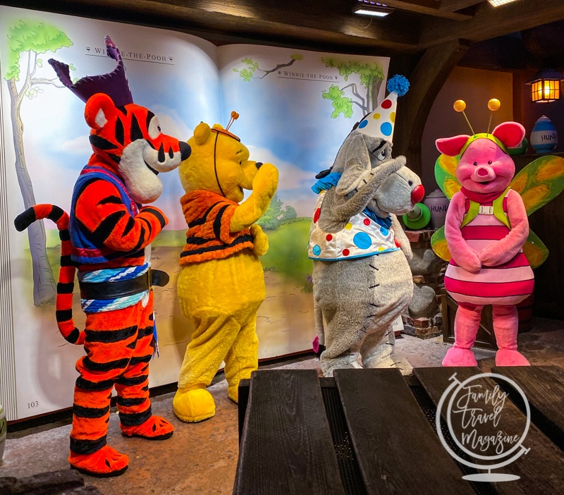 Pooh and Friends at Mickey's Not So Scary Halloween Party