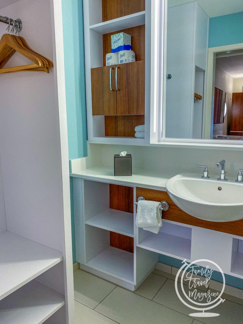 Pop Century Resort bathroom