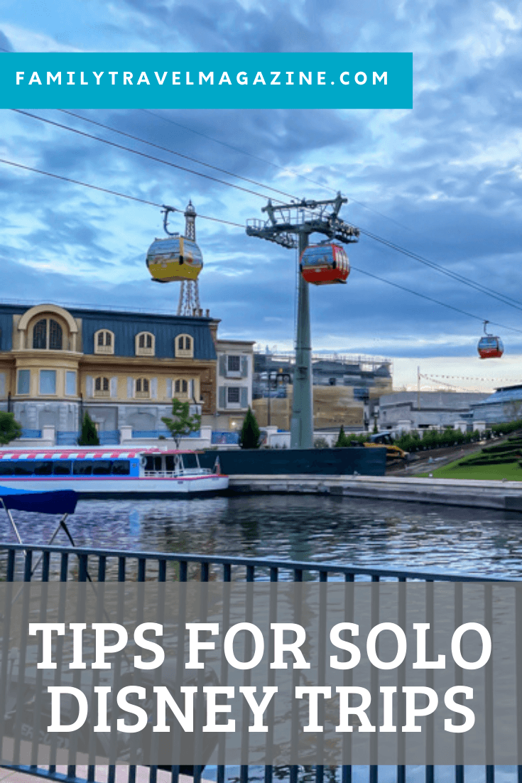 Are you thinking of taking a solo Disney World trip? It can be a great way to experience the theme parks on your own terms. Here are our best tips for solo Disney trips.