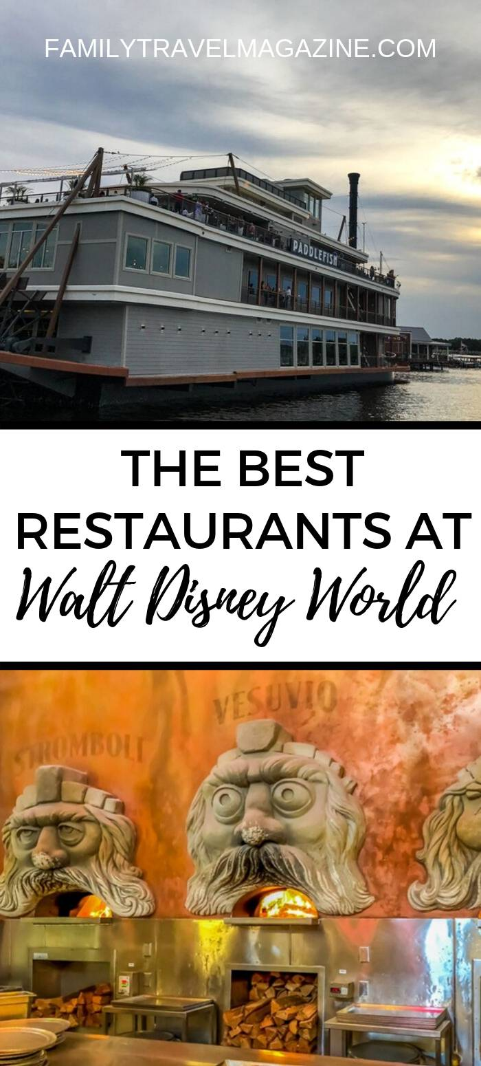 The Best Disney World Restaurants, including table service, quick service, and character dining restaurants.