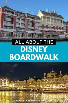 All about Disney's Boardwalk, including the Boardwalk Inn, Disney Boardwalk restaurants, and the location of the Boardwalk.