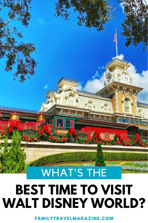 Wondering what is the best time to visit Disney World? Read about the best time to visit - for lowest crowds, for the cheapest tickets, for various events.