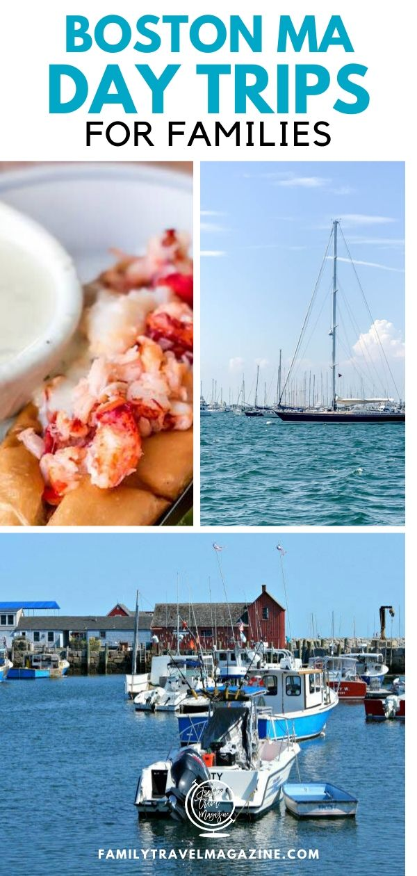 If you are planning to visit Boston Massachusetts with your kids on vacation, there are a number of day trips from Boston that you can take. Here are some options, including Cape Cod, the Boston Harbor Islands, Newport, and more.