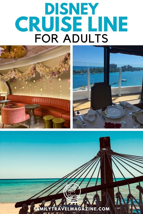 Kids love Disney Cruises, but what about adults? Did you know that there is much to do on a Disney Cruise for adults? Read about the various things to do, including premium meals, adult only sections, and more.