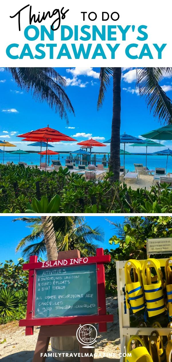 If you are traveling on a Disney Cruise Line Bahamian or Caribbean itinerary, Disney's Castaway Cay will probably be one of your tops. This post contains everything you need to know about Castaway Cay, including tips and activities such as snorkeling and renting a cabana.