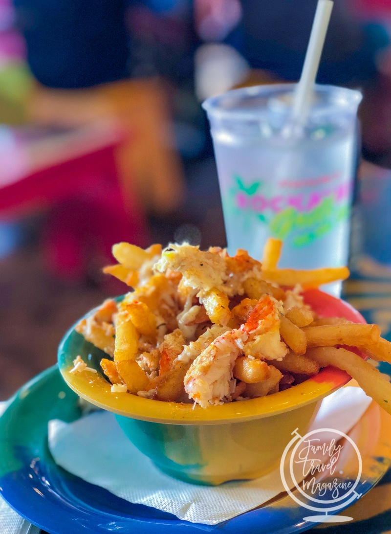 Crab fries at Frenchy's