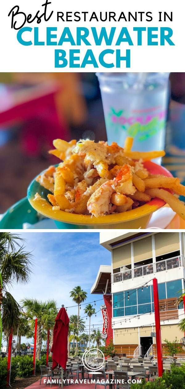A review of the best restaurants in Clearwater Beach, including beach front restaurants, breakfast restaurants, seafood restaurants, and restaurants with kids menus.