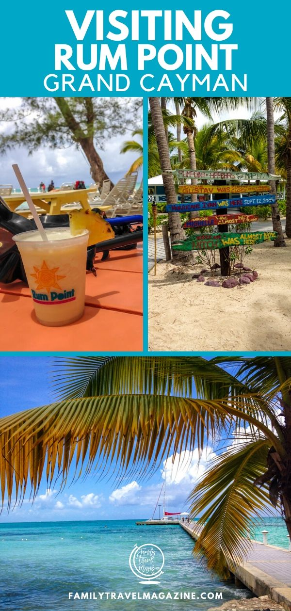 Grand Cayman is a fun island with lots of great beaches, but my favorite is Rum Point. This beach off the beaten path offers restaurants, snorkeling, water sport rentals, and more. It's a great spot for a cruise excursion or beach day during your family vacation.
