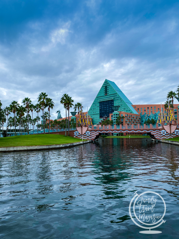 The Disney Swan and Dolphin Resorts