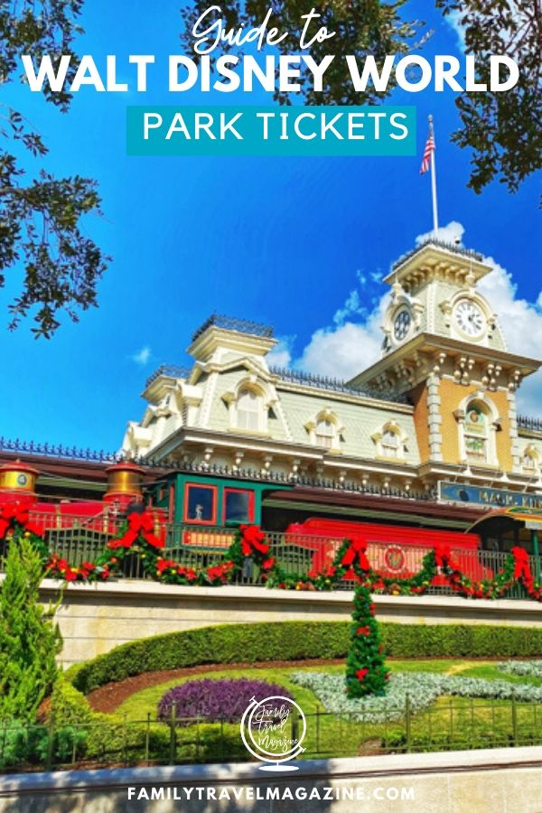 Buying Walt Disney World tickets can be complicated because there are so many different options. Before buying tickets, read our guide to Walt Disney World tickets which includes all of the various different options and types of tickets.