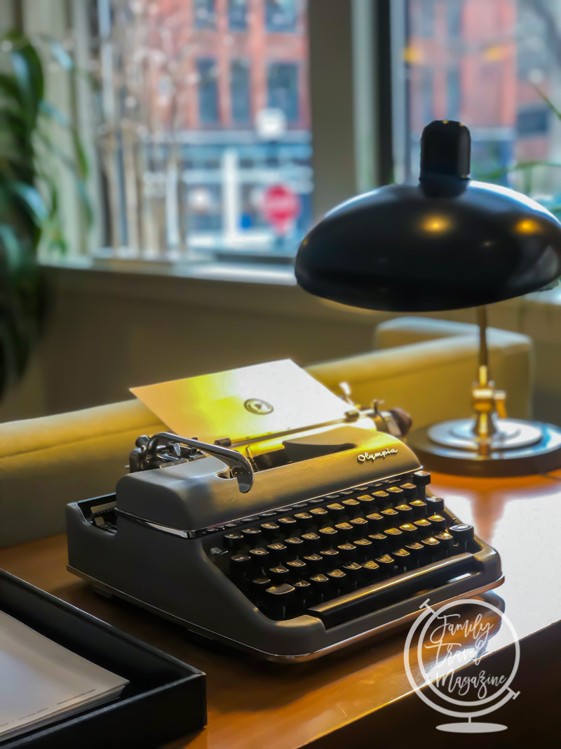 Typewriter at the Press Hotel