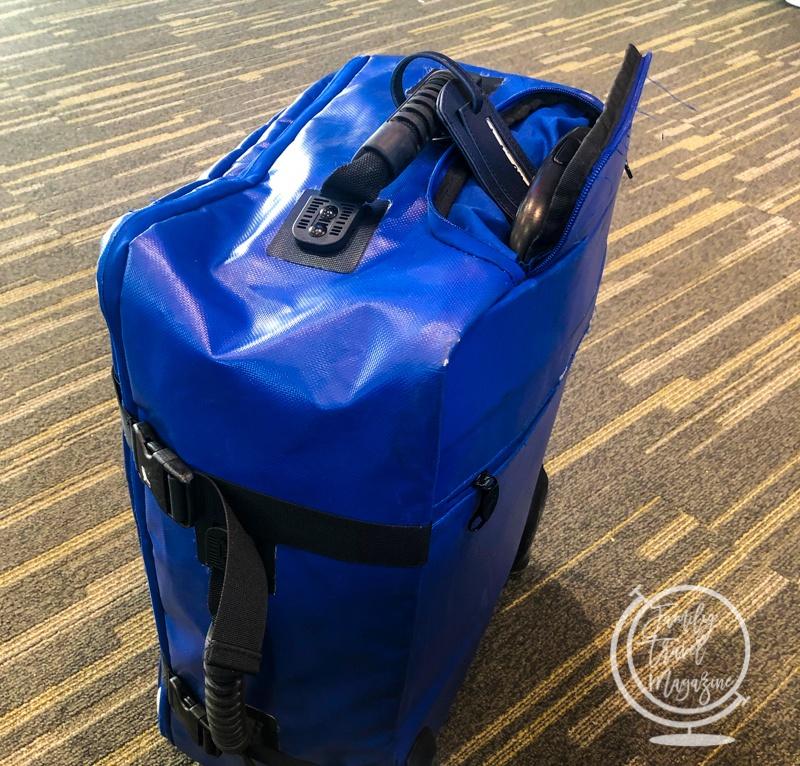 Tarp carry on bag