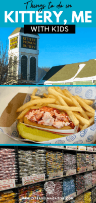 Kittery Maine is a fun town located on the border of New Hampshire along the coast. Here are some fun things to do in Kittery Maine with kids, including outlet shopping, delicious seafood restaurants, and more.