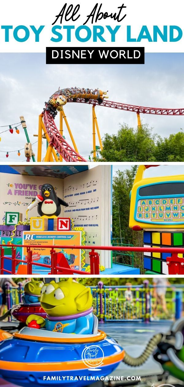 All about Toy Story Land at Walt Disney World. Read about the three attractions, character interactions, and more at this fun new addition to Disney's Hollywood Studios in Florida.