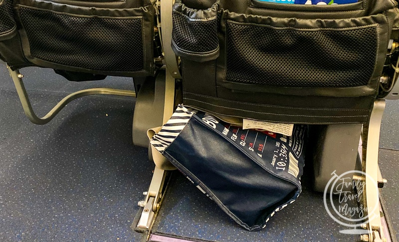 Under seat bags