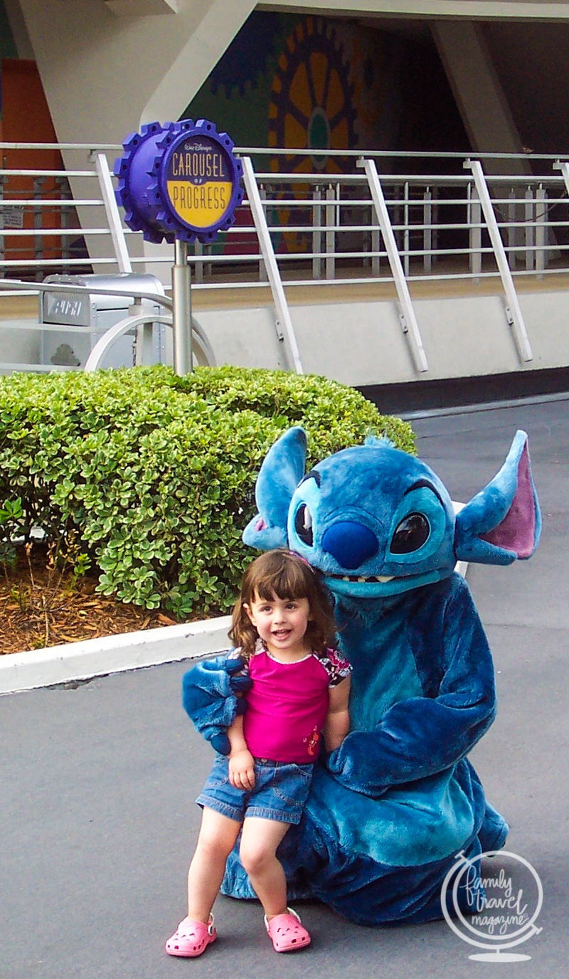 Stitch at the Carousel of Progress