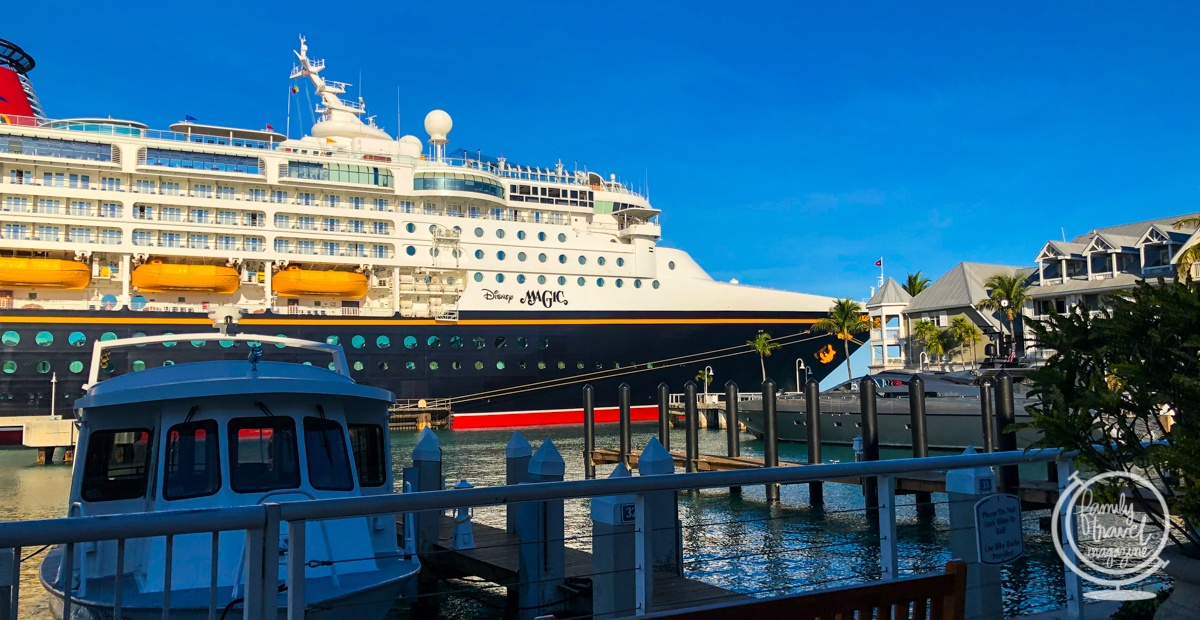 The Disney Magic at Key West
