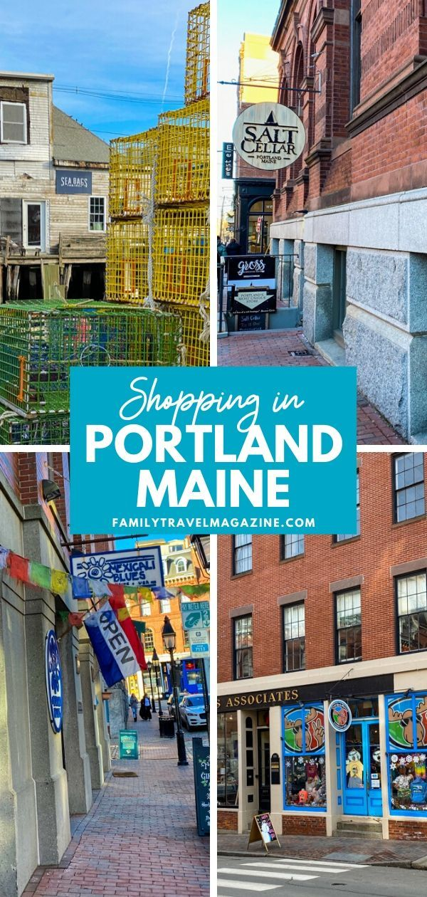 Portland Maine is a fun, quaint town filled with shops, restaurants, and bars. Here are our favorite shops for Portland Maine Shopping, including small chains and independent shops.