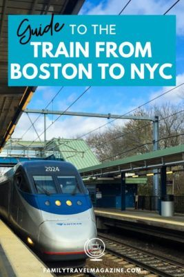 A guide to taking the train from Boston to NYC, including information about the train stations, the differences between the trains, and guidance about taking the train.
