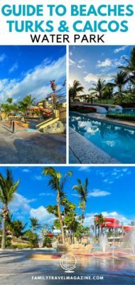 Beaches Turks and Caicos Resort is home to the Pirate's Island water park, which includes water slides, a lazy river, and a SurfStream.