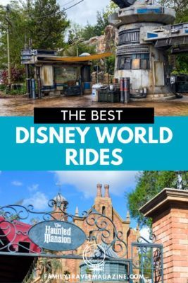 The best rides at Disney World that are worth the lines, including thrill and classic rides at all four Walt Disney World theme parks.