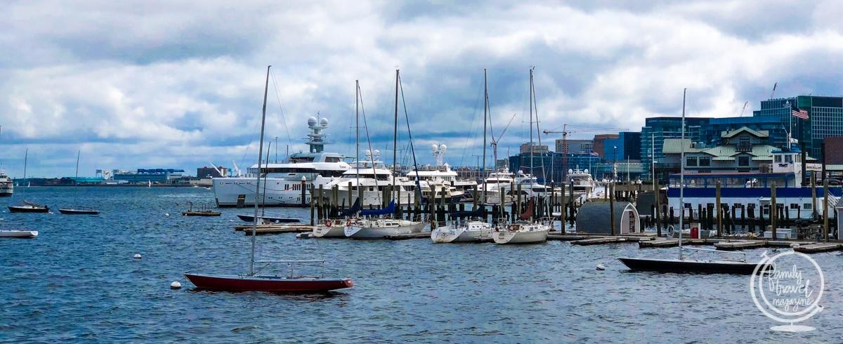 The Boston Harbor Waterfront