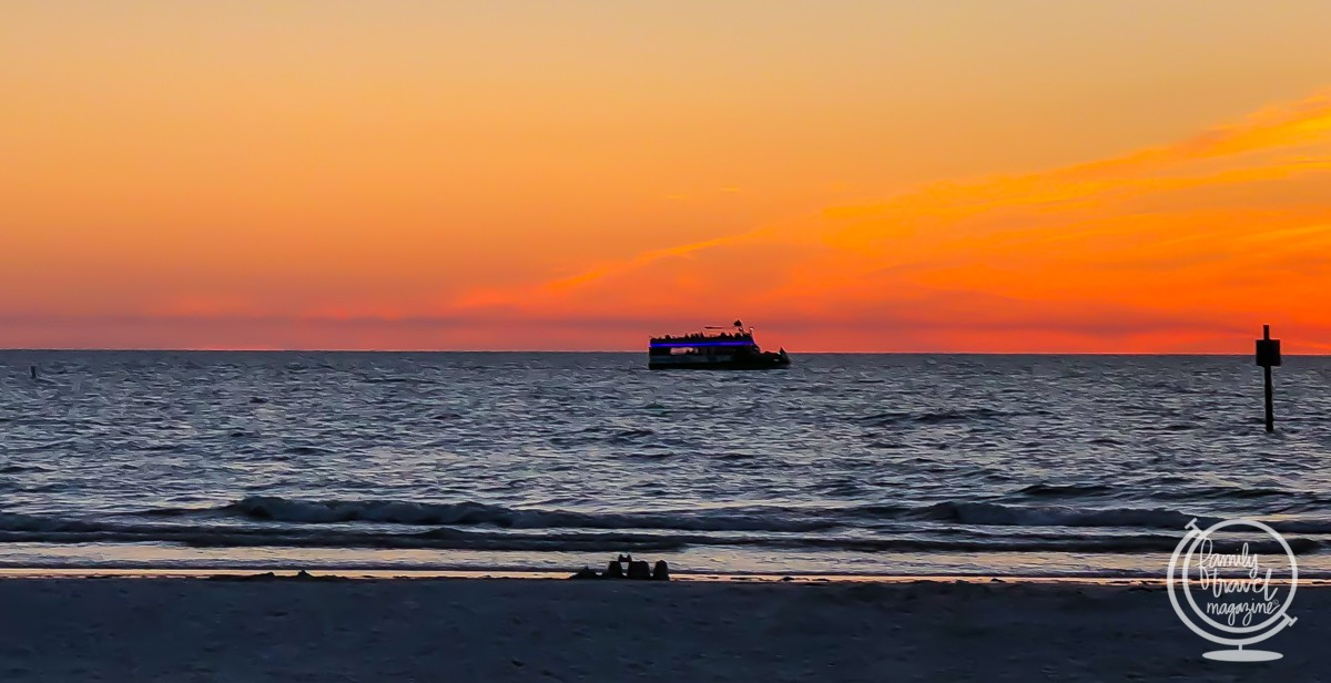 Clearwater Florida Beach at Sunset