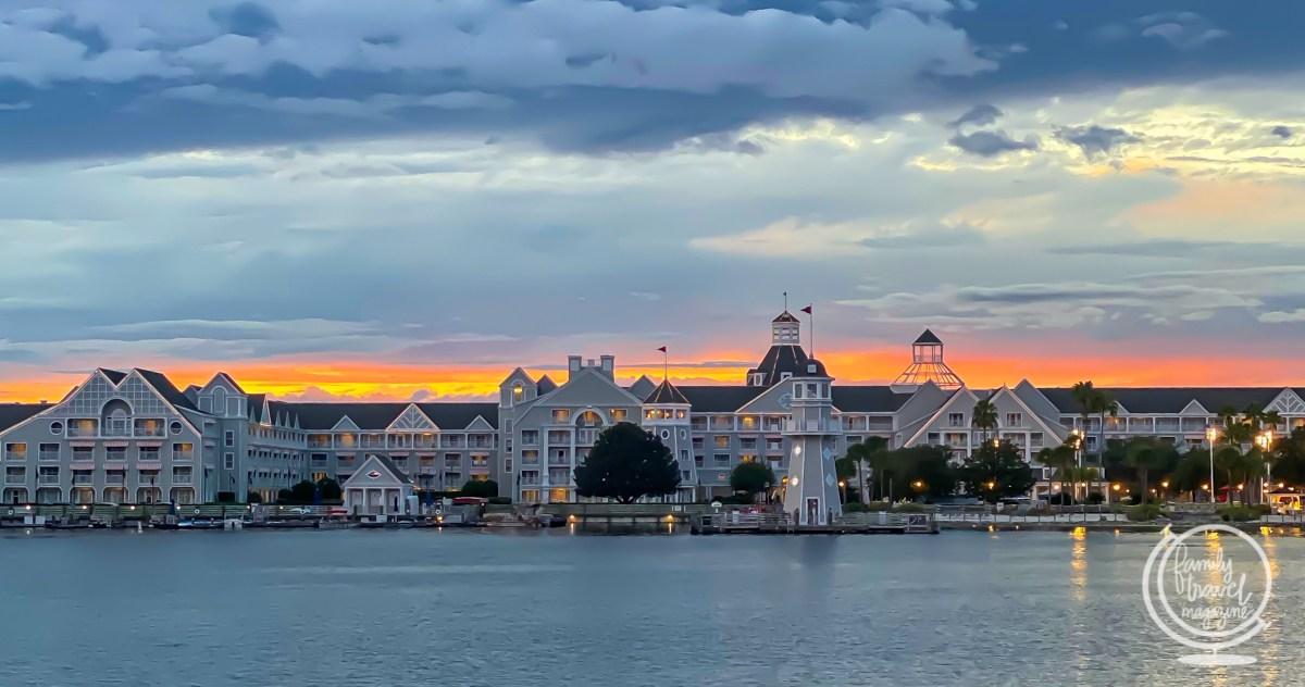 Disney's Beach Club Resort from the Boardwalk