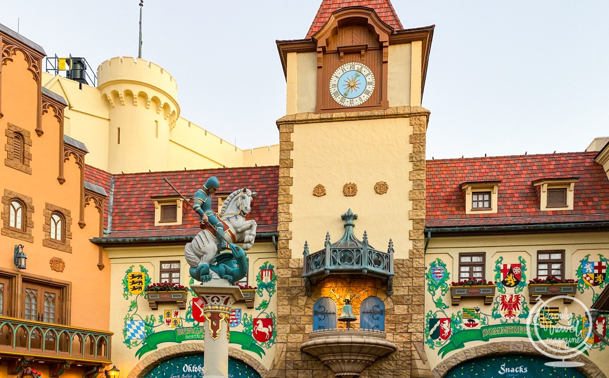 The Germany pavilion at Epcot