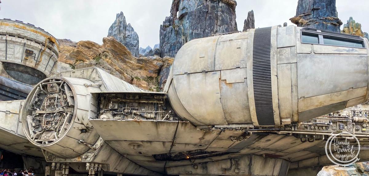 Star Wars: Smugglers Run exterior