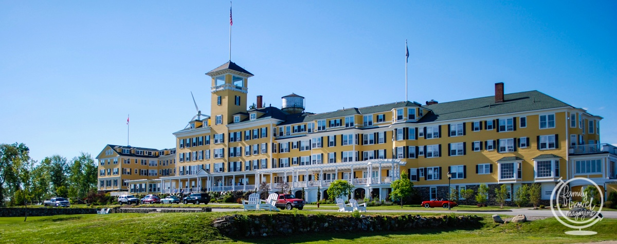 The Mountain View Grand Resort in the White Mountains