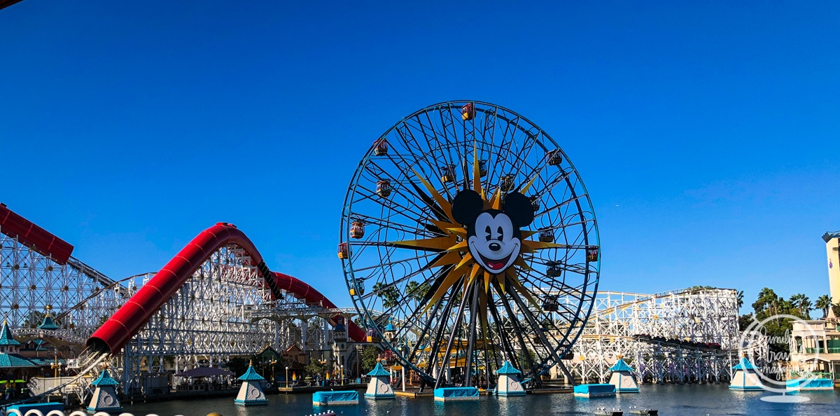 Pixar Pier at California Adventure