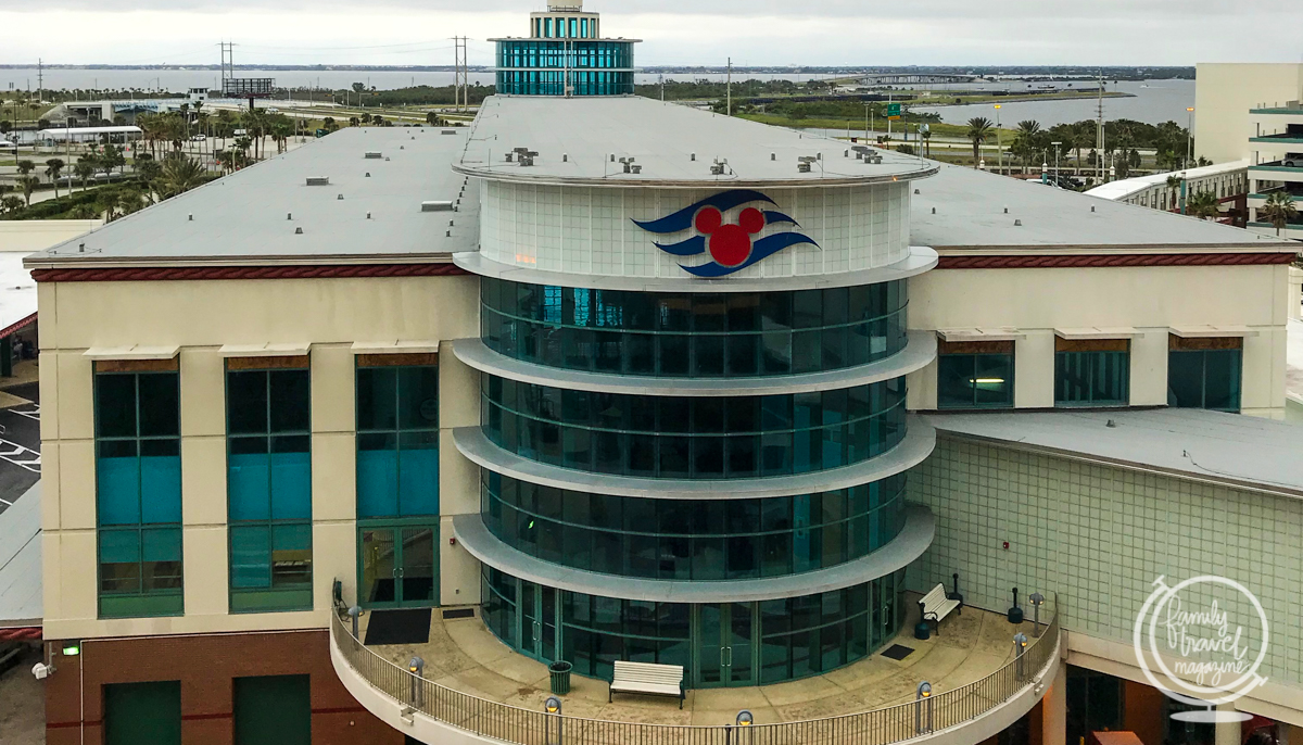 The Disney Cruise Terminal at Port Canaveral