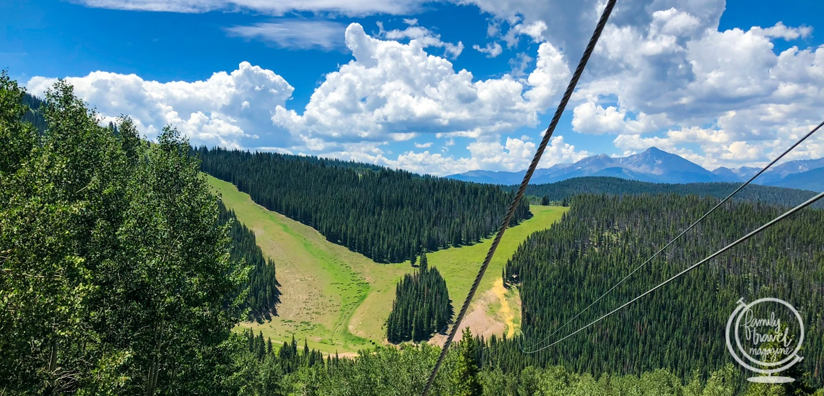 ziplining in vail colorado