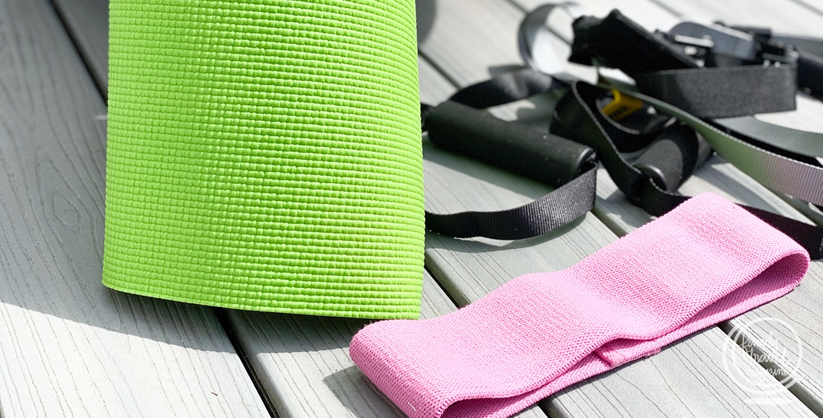 Equipment for at home or on the road workouts