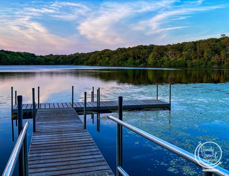 Blueberry Pond at Ocean Edge Resort in Brewster