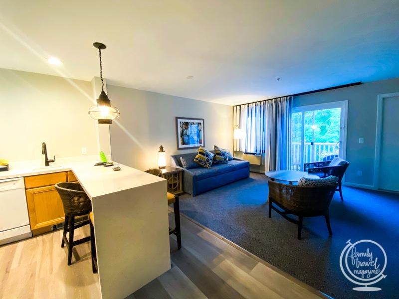 A one-bedroom villa at Ocean Edge