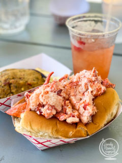 Lobster roll from the Raw Bar Mashpee