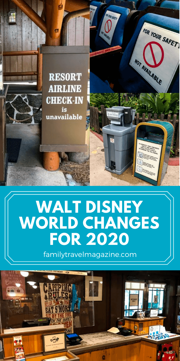 The Walt Disney World theme parks as well as Disney Springs are now reopened to guests. Here's what to expect with the Walt Disney World changes for 2020.