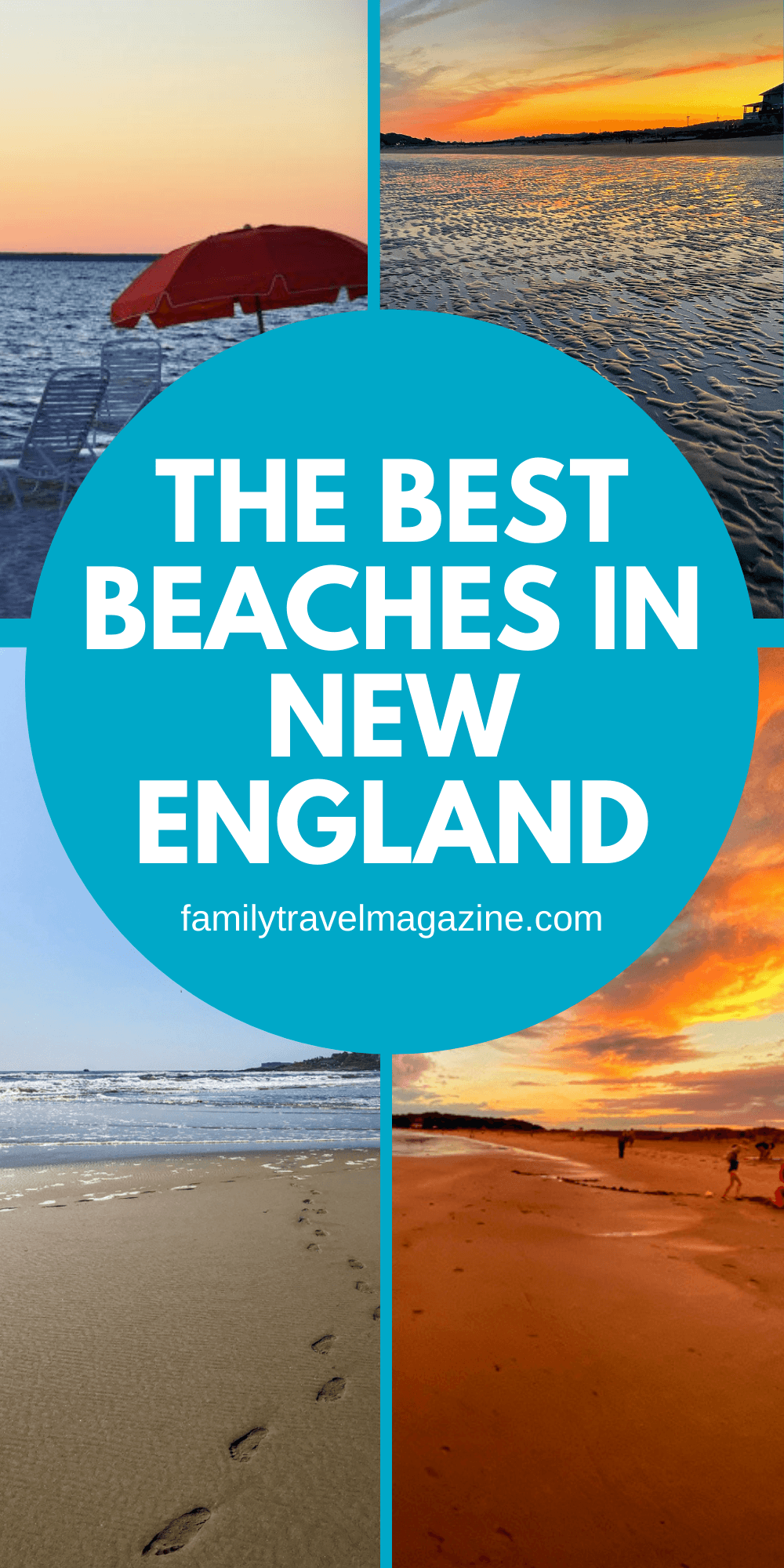 With lots of Atlantic coastline, the New England states have plenty of beaches for vacationers and locals to enjoy. Join Family Travel Magazine readers to check out this post featuring the best New England beaches and towns to visit on vacation with kids.