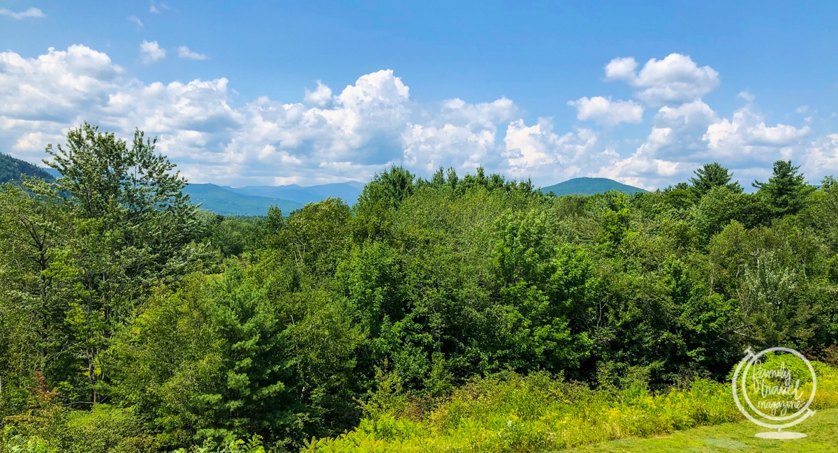 The White Mountains in the summer