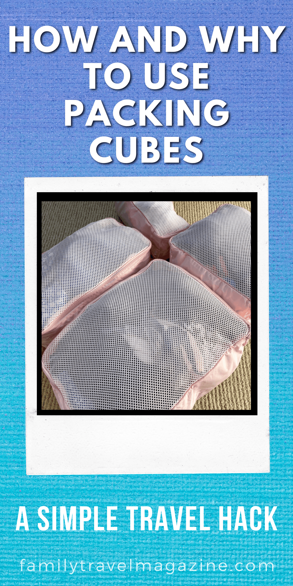 One of our favorite travel and packing tips and hacks is using packing cubes. Here's everything you need to know about how to use packing cubes including the best types to buy, how to pack in your carry on, and how to pack for the best compression.