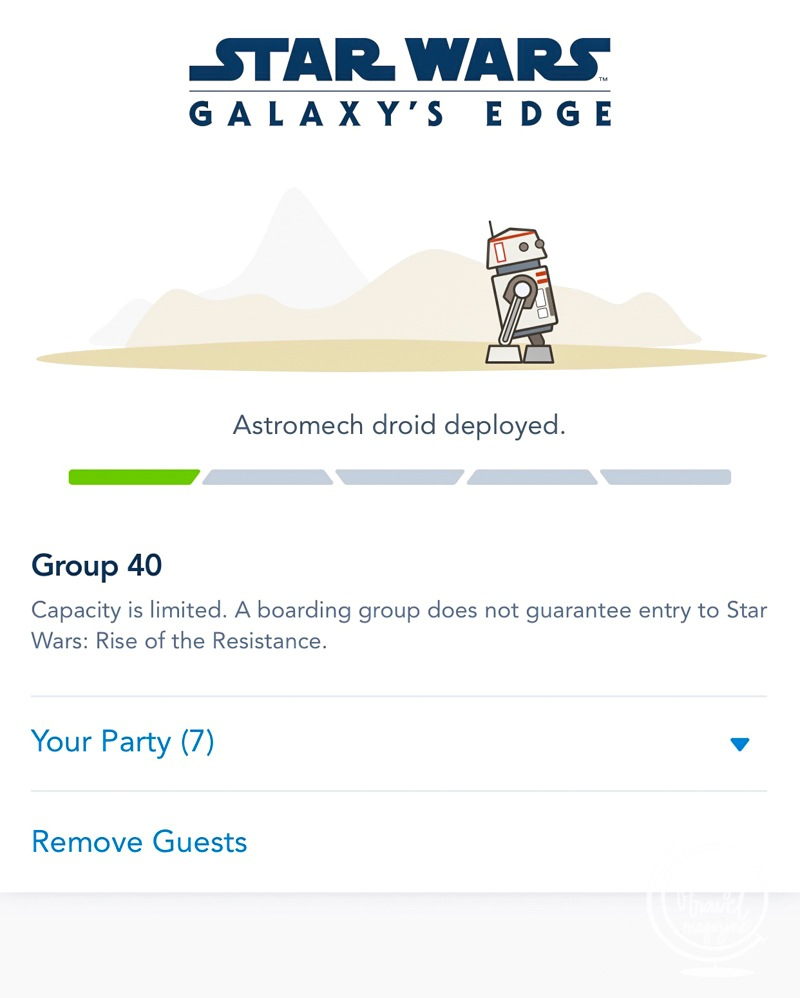 How to get a Rise of the Resistance boarding group at Disneyland and Disney's Hollywood Studios at Walt Disney World, including ride tips for the attraction.